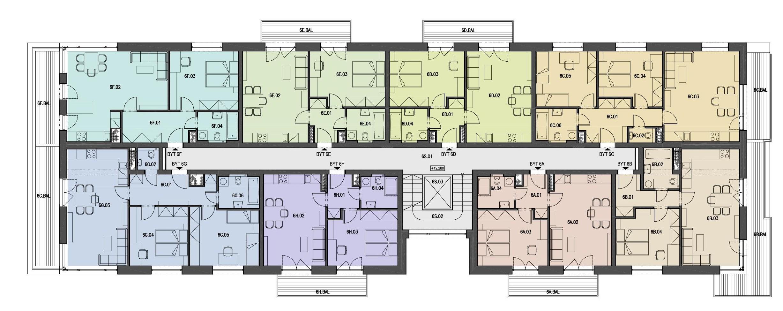 Schéma bytu